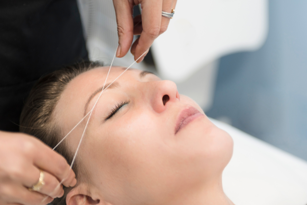 Eyebrow threading singapore